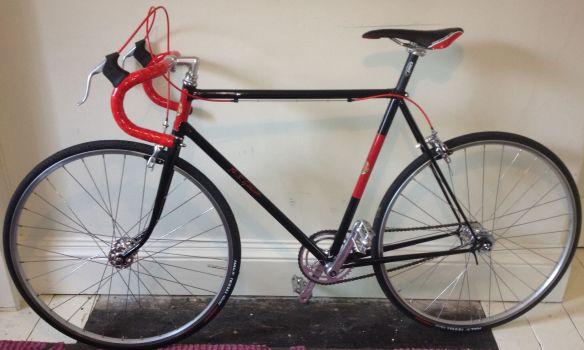 A.S.Gillott bike