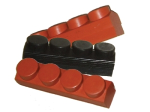 These Koolstop brake pads for Mafac use a period-correct design (4 dot) and modern materials for better control
