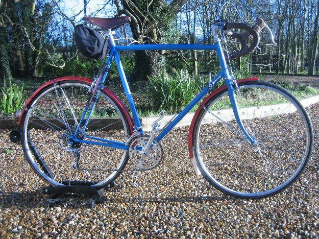 The 'New Look' Falcon Westminster -  a faultless L'Eroica ride and joy to ride in winter
