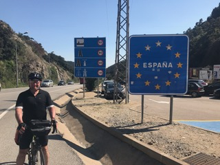 Richard entering Spain