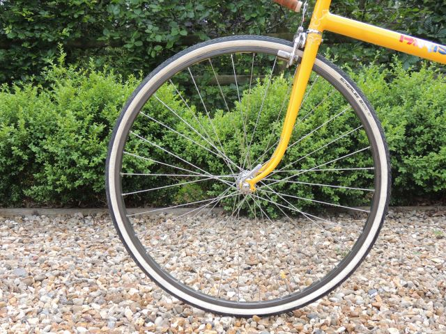 Paris Galibier front wheel